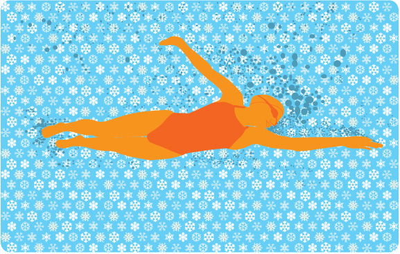 swimming_snowflakes