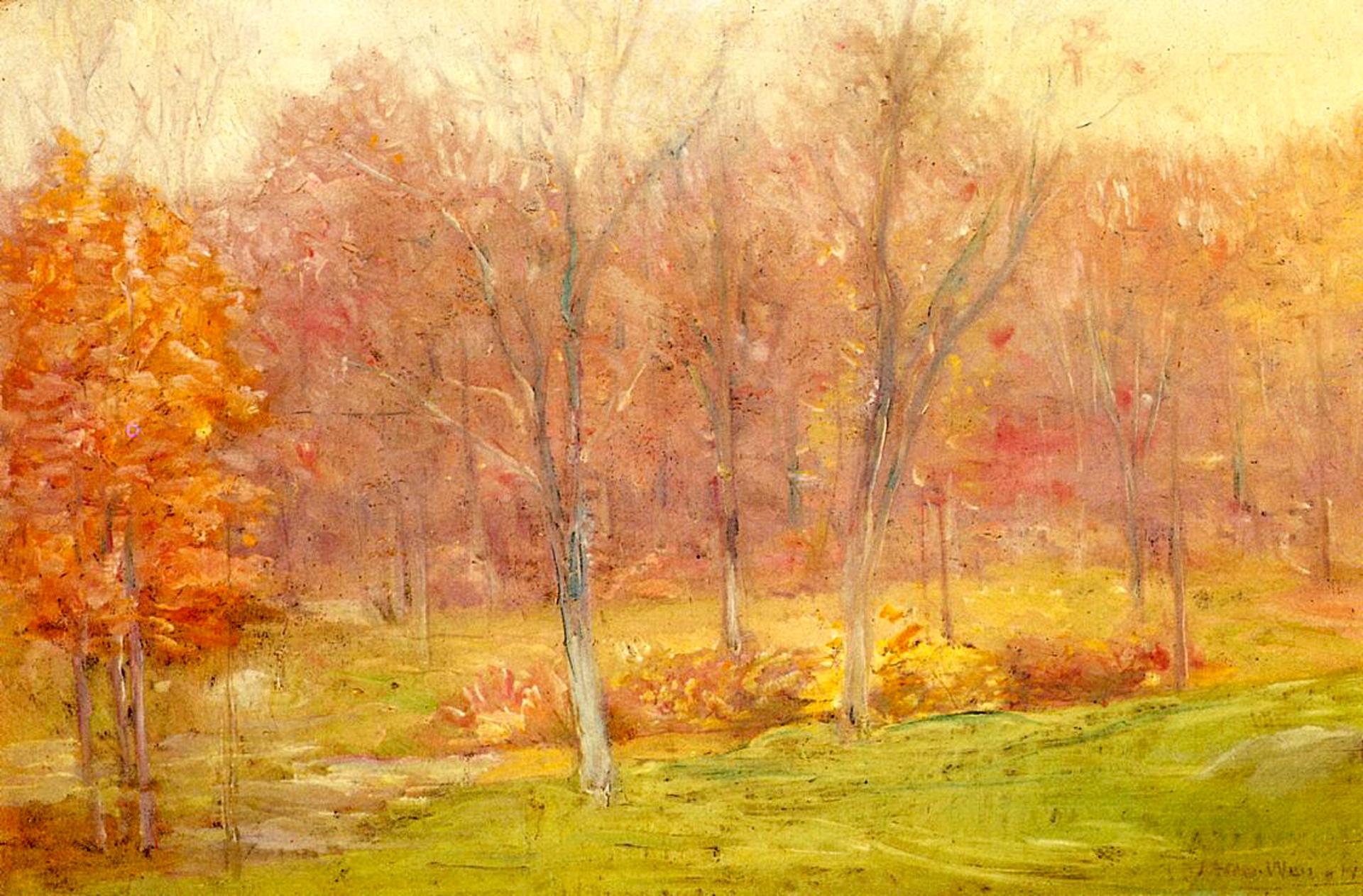 julian_alden_weir_autumn_rain